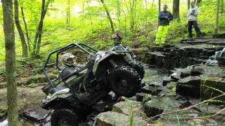 6. Ryan tackling the waterfall in his Ace 900