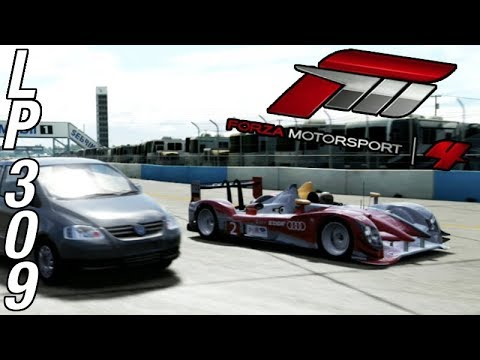Let's Play Forza Motorsport 4 - Part 309 - Audi Prototype Passing Challenge