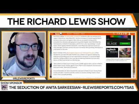 Richard Lewis updates action taken on CSGOlotto and Valve Class Action suits