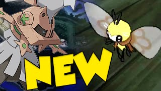 NEW POKEMON REVEALED IN POKEMON SUN AND MOON! CUTIEFLY EVOLUTION & CHIMERA by Verlisify