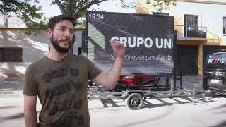 Trailer levadizo en Mendoza a pedido de uno de nuestros clientes