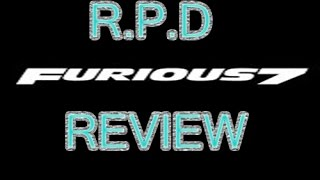 Nonton R.P.D Furious 7 Review (The Best Movie of 2015) Film Subtitle Indonesia Streaming Movie Download