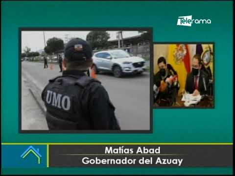 Plan de contingencia a ejecutarse en Azuay por las fiestas de Cuenca