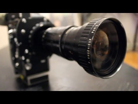 16mm - My first project in my Production 1 class this semester was to shoot a short film using a 16mm Bolex film camera. I was given 100 feet of film, roughly 2 min...