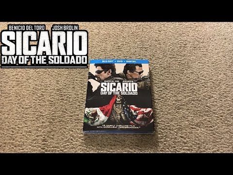 Sicario: Day of the Soldado Blu-Ray Unboxing