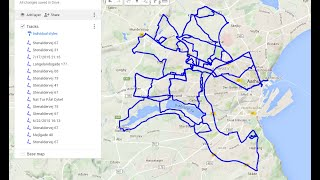 My Tracks GPS app from Google for tracking your routes:...