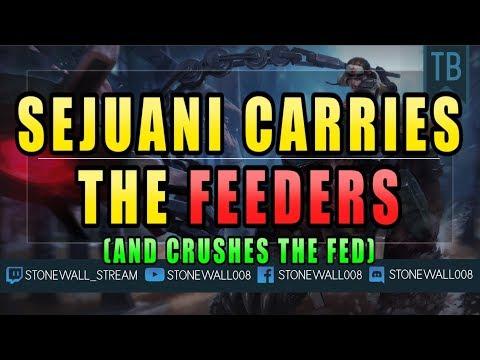Sejuani Carries The Feeders! (видео)