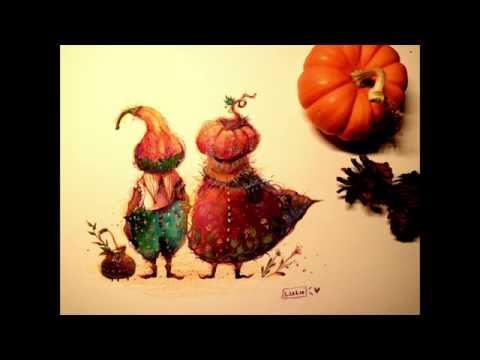 Little pumpkin creatures!!! (видео)