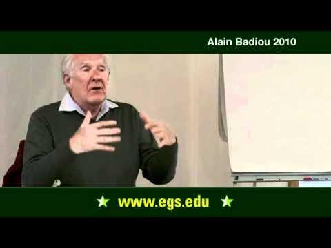 Alain Badiou. Philosophie: Was ist zu tun? 2010.