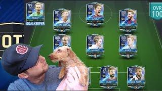 Video FIFA Mobile Full TOTY Team! Insane 100 OVR starting 11! Best FIFA 17 iOS Theme Team! MP3, 3GP, MP4, WEBM, AVI, FLV Juni 2017