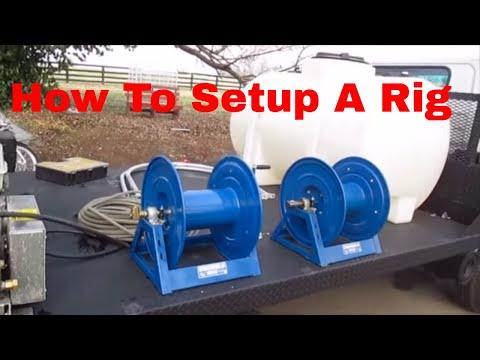 Pressure Washing set up basic overview