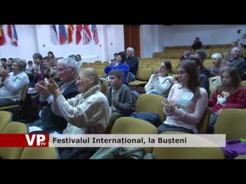 Festivalul Internațional, la Bușteni
