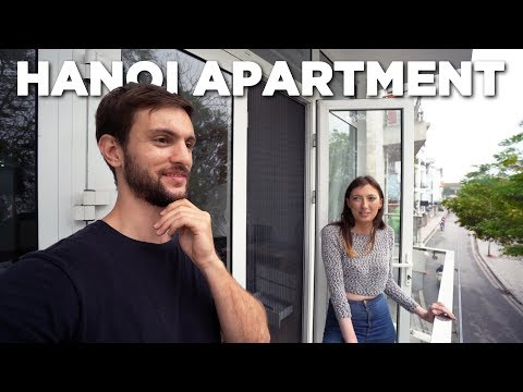 550 USD Hanoi Vietnam Apartment Tour