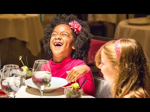 small - For the magazine's fall Food issue, we treated six second graders from P.S. 295 in Brooklyn to dinner at Daniel, where the seven-course tasting menu goes for...