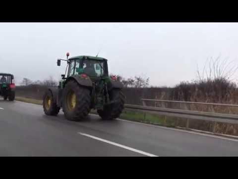 Poljoprivrednici blokirani, očekuju pregovore