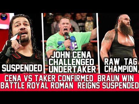 WWE RAW 12 Mar 2018 Highlights Results || John Cena Vs Undertaker At Wrestlemania 34 Confirmed
