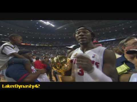 2003-04 Detroit Pistons Championship Season Part 4/4