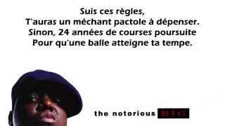 Notorious B.I.G. - Ten Crack Commandments [Traduction française]