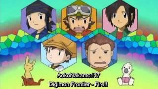 Video Digimon Frontier's Boys - Fire!! (Memorial Version) eng sub MP3, 3GP, MP4, WEBM, AVI, FLV Desember 2018