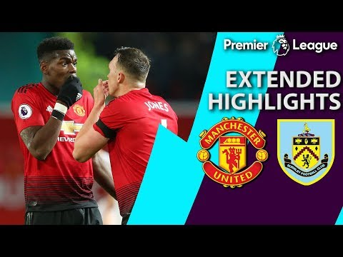 Video: Manchester United v. Burnley | PREMIER LEAGUE EXTENDED HIGHLIGHTS | 1/29/19 | NBC Sports