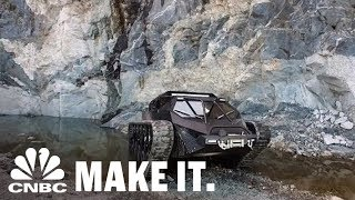 Billionaires Are Buying These $600,000 Doomsday Luxury Tanks | CNBC Make It.