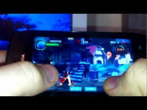 PSP game on Symbian (Nokia 603)