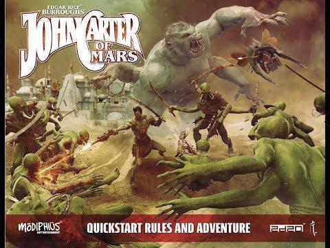 2d20 John Carter of Mars - Trial One Shot