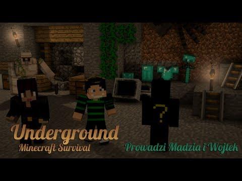 Minecraft: UnderGround Survival #5 /w Madzia, Buraczek