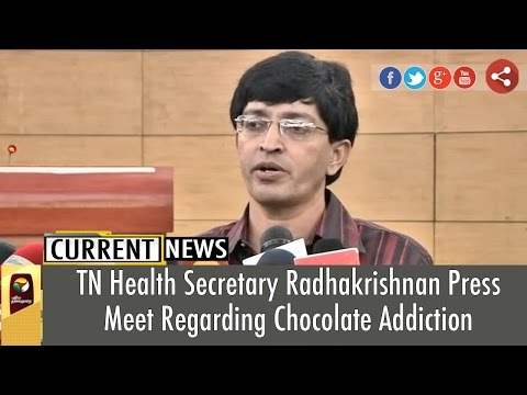 Radhakrishnan-addressing-reporters-on-various-issues-including-chocolate-controversy