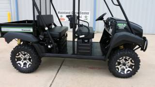 4. $12,299:  2017 Kawasaki Mule 4010 Trans SE with Lift, Stereo, and Wheel & Tire Upgrade
