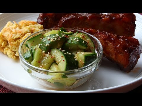 Smashed Cucumber Salad Recipe - How to Make the World's Most Addictive Cucumber Salad