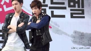 120707 Baekhyun's cute mistake - History