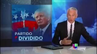 Trump ataca Clinton, liderazgo republicano, medios de comunicación | Noticiero Univisión