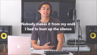 Alex Aiono // Lyric video of one dance by Drake and Hasta el Amanecer Nicky Jam mashup