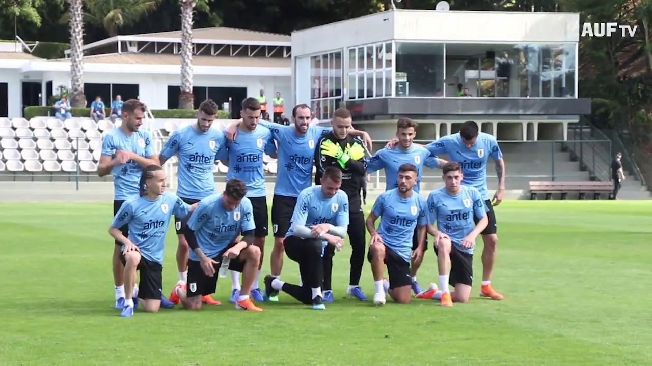 Fútbol informal de Uruguay en Belo Horizonte - 15/6/2019