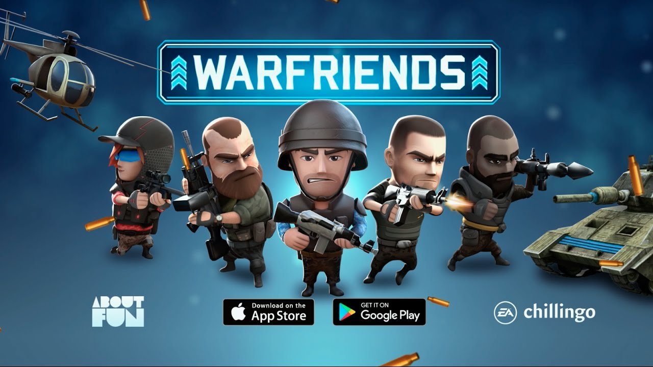 photo image 'Warfriends' from Chillingo Launches Worldwide on January 17th