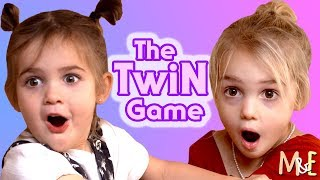 Video THE TWIN GAME! | MILA & EMMA MP3, 3GP, MP4, WEBM, AVI, FLV April 2019