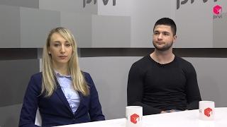 Ivona Ćavar i Esned Crnomerović na Prvom TV