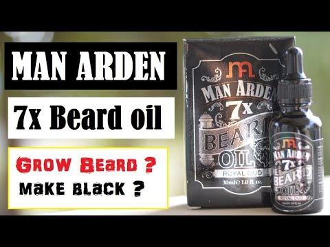 Man Arden beard oil grow beard ?, Whitening problem ? REVIEW Hindi