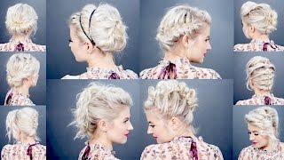 Tatanan Cantik Untuk Rambut Pendek