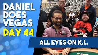 All Eyes on K L  as he drives towards the MONEY! - WSOP VLOG DAY 44 PRODUCED BY: JAMES TAYLOR Follow K.L on twitter:...