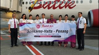 Download Video #49 Penerbangan Perdana Batik Air Jakarta-Penang-Jakarta MP3 3GP MP4