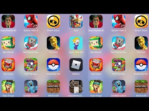 Play this video ScaryTeacher,Minecraft,MiniWorld,TomCandy,Fortnite,SaveTheGirl,Branny Craft,Roblox,ZombieCatch,PvZ 2