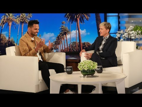 Ellen Meets Motivational Speaker Jay Shetty