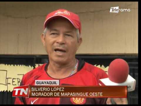 Moradores Mapasingue Oeste piden semáforo ante constantes choques