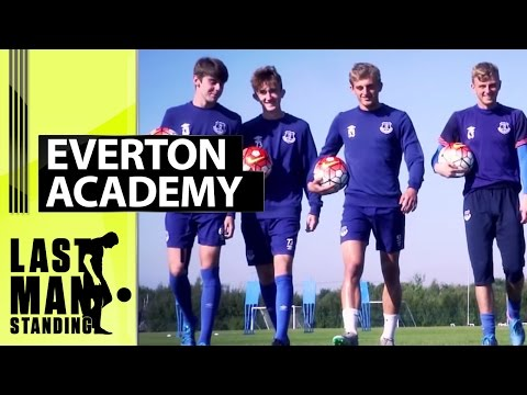 Last Man Standing: Everton FC Academy -  Who'll be the last Toffee in the box?