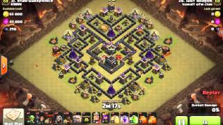 Th9 3 star attack.. LADY DRAGON gohowi attack!! Kuwait OFW Clan