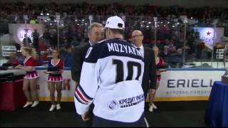 Sergei Mozyakin honoured as 2016 Gagarin Cup MVP