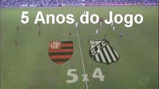 5 anos do jogo flamengo 5 x 4 santos pelo campeonato brasileiro 2011. Foi a partida mais emocionante do brasileirão 2011. Confira os melhores momentos ...
