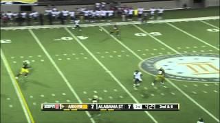 Terron Armstead vs Alabama State (2012)